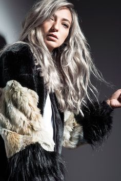 MONX BRAND AW 16-17 CAPSULE COLLECTION: MARLA FAUX FUR BOMBER
