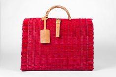 Handmade Basket  Santa Rita Collection n. 0  Red by ToinoAbel, €40.00