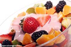 Dieta de iogurte e frutas