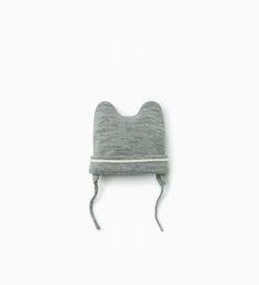 Striped print hat.-Accessories-Baby boy | 3 months - 3 years-KIDS | ZARA United States