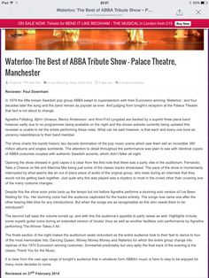 Palace Theatre Manchester review