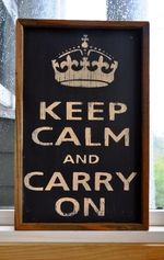 Repeated countless times on call. Keep Calm Meme, Keep Calm Signs, Keep Calm Carry On, Favorite Quotes, Best Quotes, Remain Calm, Message In A Bottle, Words Worth, More Than Words