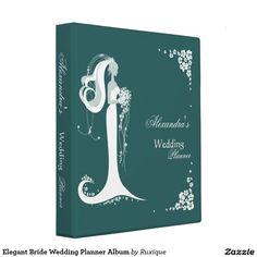 Elegant Bride Wedding Planner Album Binder