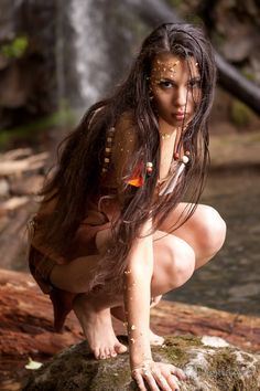 wild woman in forest photo shoot - Google Search