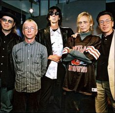Benjamin hanging in there during an interview with all 5 members of The Cars, just weeks before he passed away.