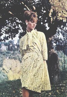 Jean Shrimpton by David Bailey for Vogue UK May 1964