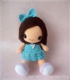 Bella amigurumi crochet pattern by Berriiiz