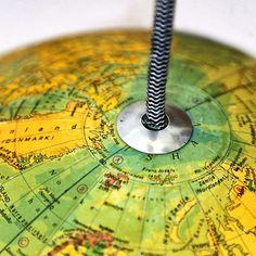 Réaliser une suspension globe : Femme Actuelle Le MAG Lampe Globe, Washer Necklace