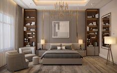 Hotel Bedroom on Behance Hotel Bedroom Design, Master Bedroom Interior, Bathroom Design Luxury, Hotel Bedrooms, Modern Luxury Bedroom, Luxurious Bedrooms, Hotel Interiors, Behance, 3ds Max