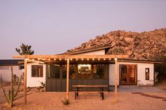 Alison and Jay Carroll transformed a boarded-up homestead into their own modern oasis Pollo Tropical, Desert Dream, Desert Life, Adobe House, Home Decor Sale, Sims House, Prefab Homes, The Ranch, Architectural Digest