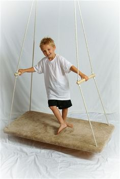 Glider Swing: swinging provides vestibular input and helps children integrate sensory input while also improving balance and coordination.