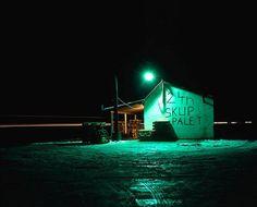 Szymon Roginski The Verve, Wilderness, Poland, Environment, Neon, Night, Photography, Inspiration, Photos