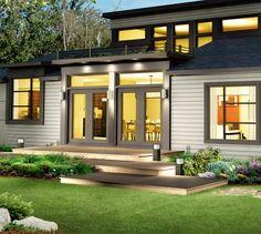 facade maison contemporaine quebec - Recherche Google   Extérieur ...