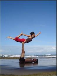 couples balance yoga  it's a great way to meet new people