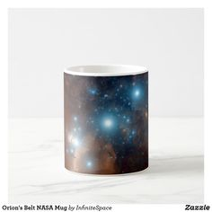 Orion& Belt NASA Mug - cyo diy customize unique design gift idea Orion's Belt, Office Gifts, Nasa, Special Gifts, Diy Design, Coffee Mugs, Travel Office, Nail Wraps, Unique