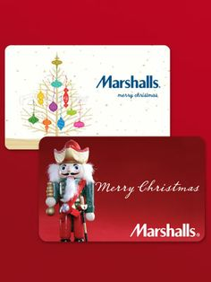 marshalls gift card - Merry Christmas to me. Love this store.