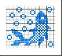 58 New ideas knitting charts fish patterns Fair Isle Knitting Patterns, Knitting Charts, Knitting Stitches, Crochet Cross, Filet Crochet, Crochet Chart, Cross Stitch Charts, Cross Stitch Patterns, Cross Stitching