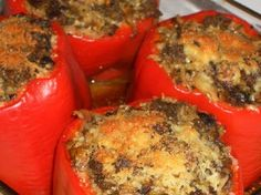 Kalyn's Kitchen: Recipe for Stuffed Peppers with Cabbage and More South Beach Success Stories