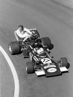 José Carlos Pace - Team Williams Motul - March 711  Ronnie Peterson (STP March Racing Team)GP_FR