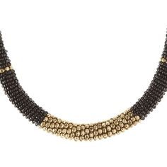 Charlotte Russe Beaded Choker ($6) ❤ liked on Polyvore featuring jewelry, necklaces, black, chunky choker necklace, bead jewellery, chunky bead necklace, beaded choker necklace and beading jewelry