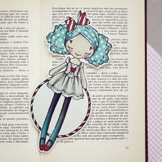 Miss Cloud9 - Romantic Carnival bookmark