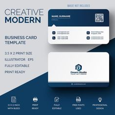 24 ideas for business cars design template layout Make Business Cards, Professional Business Card Design, Modern Business Cards, Business Design, Creative Business, Firma Email, Visiting Card Design, Visiting Card Templates, Name Card Design