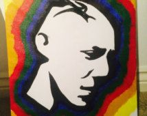 Juice Ortiz inspired Art Sons of Anarchy | Juice Ortiz with rainbow border fro m Sons of Anarchy ...