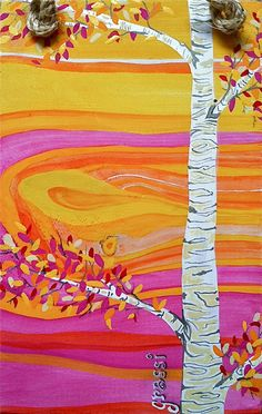 Aspen Tree in Autumn by RoomCharms on Etsy, $29.00