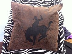 Western decorative pillows medium by ashtensmeenk on Etsy, $15.00