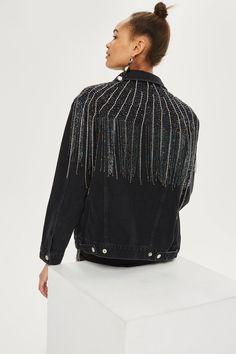 MOTO Dazzle Fringe Jacket