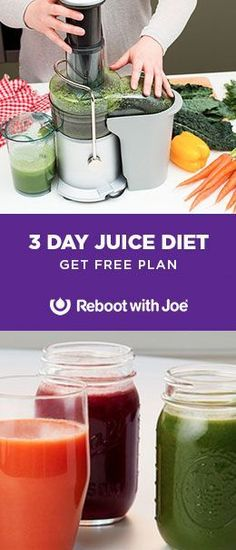 3 Day Juice Diet plan from Joe Cross. Includes juice recipes, shopping lists and more. http://juicerblendercenter.com/juicing-for-health/