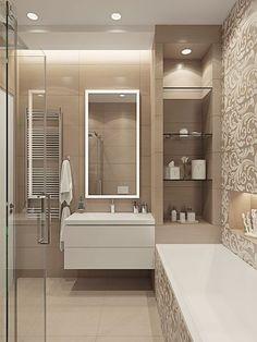 Cerámica para cuartos de baño, modelos diseños y colores | Baños ...