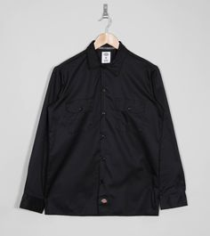 Dickies Slim Fit Work Shirt - find out more on our site. Find the freshest in trainers and clothing online now.
