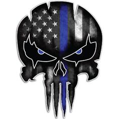 USA ole glory militia skull Window Decal // Sticker Molon Labe USMC INFIDEL