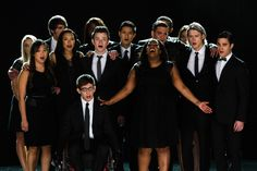 The cast of Glee [Matt Taibbi   •   Peter Travers   •   Daily Download   •   Rock 'n' Roll Landmarks   •   Venues That Rock   •   Y! Music                                                'Glee' Rethinks Series Finale After Cory Monteith's Death; Rolling Stone]
