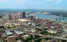 View of downtown Louisville where I spent a lot of time over the years.  It's always exciting to return on my road trips and cross the Ohio River into my hometown.