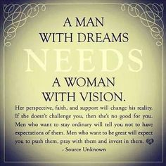 Someday I will be that woman for someone.