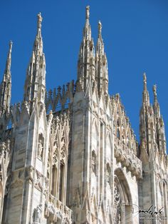 Cathedral of Milan Spires