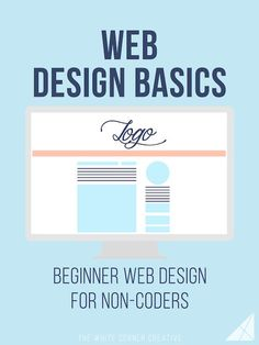 Web Design Basics - The White Corner Creative Web Design Basics is a series dedicated to helping beginners get a basic understanding of code so they can make changes to their site design. Web Design Trends, Design Websites, Web Design Basics, Web Design Quotes, Creative Web Design, Website Design Services, Web Design Tutorials, Diy Design, How To Design