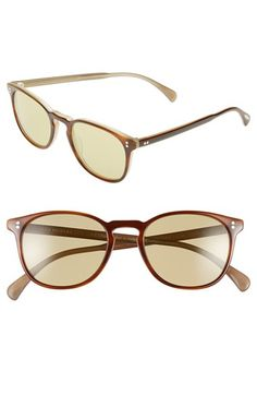 Oliver Peoples 'Finley' 51mm Retro Sunglasses available at #Nordstrom