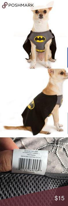 Dog batman costume Dog batman costume size Large Jackets & Coats Capes