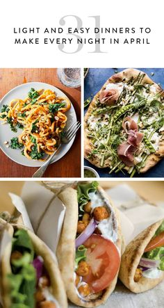 30 Light and Easy Dinners to Make Every Night in April via @PureWow