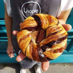 いいね!874件、コメント11件 ― Boulangerie Utopieさん(@boulangerieutopie)のInstagramアカウント: 「Viennoiserie à la Figue ce Week End, Base Pâte à Croissant #boulangerieutopie #casepassedansle11…」