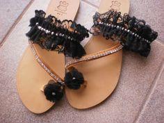 Και ξανά σαγιονάρες... Palm Beach Sandals, Drawing, Knitting, Crochet, Bags, Jewelry, Handbags, Jewlery, Tricot