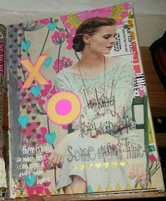 Kelly Kilmer Artist and Instructor: 1 August 2014 Journal Page