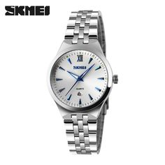>> Click to Buy << SKMEI Quartz Watch Women Fashion Casual Watches Relogio Feminino Montre Femme Reloj Mujer Full Steel Waterproof Wristwatches #Affiliate