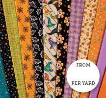 Spooks & Spells Quilting Fabric