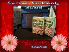 Ensaladas divertidas para el verano Sunddenly Salad de Betty Croker {Sorteo}