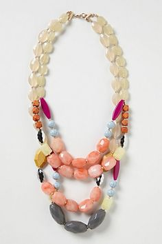 Figli Layer Necklace #anthropologie...hell yeah I would find a way to rock this baby!