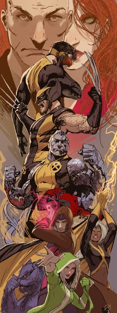The X-Men on